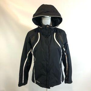 Columbia Titanium Womens M Black Winter Jacket